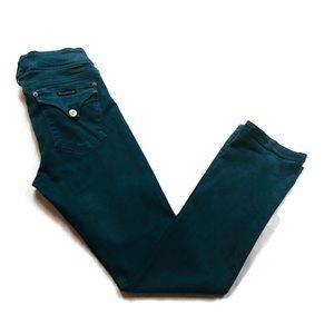 Hudson Green Straight Jeans Sz 29